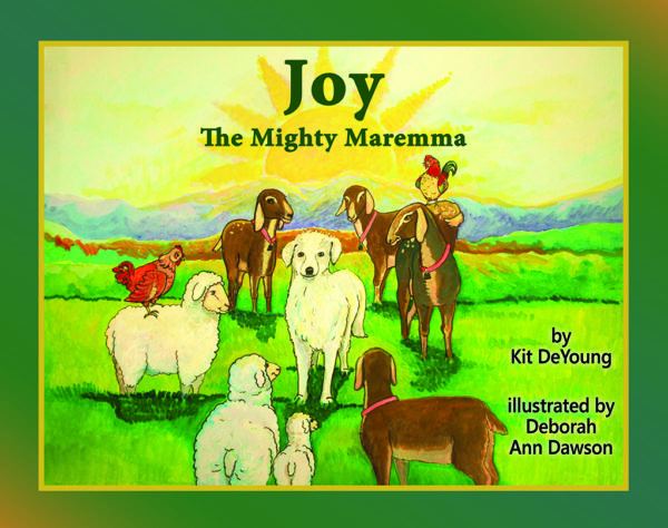 Joy the Mighty Maremma cover